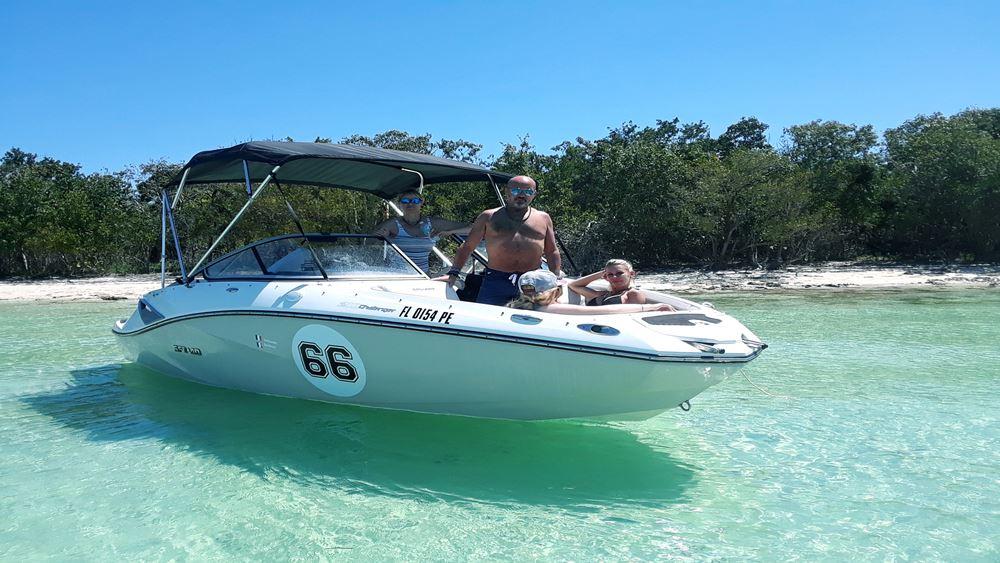 Croisière Miami : Sortie à Sand Key (Îles)