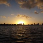 Croisiere Miami by night : coucher de soleil Miami